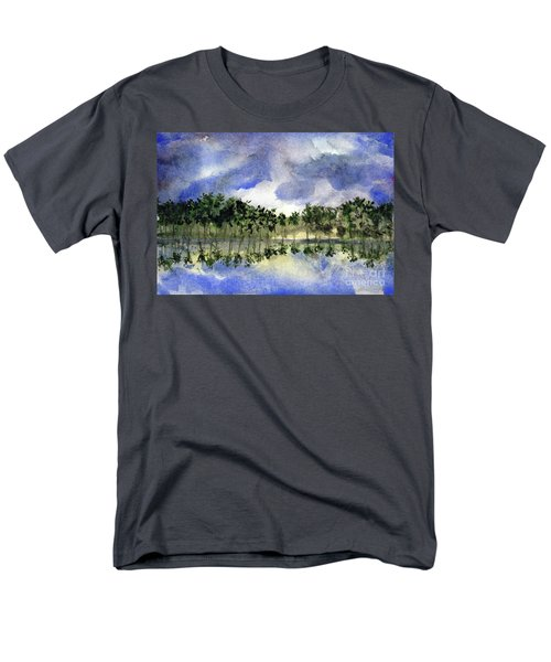 Columbian Shoreline Men's T-Shirt  (Regular Fit) by Randy Sprout