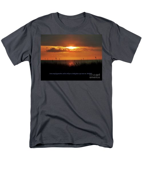 Come Away With Me  Men's T-Shirt  (Regular Fit) by Christy Ricafrente