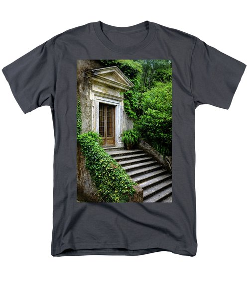 Men's T-Shirt  (Regular Fit) featuring the photograph Come On Up To The House by Marco Oliveira