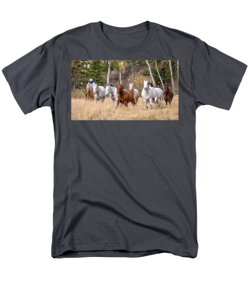 Come Running Men's T-Shirt  (Regular Fit) by Jack Bell