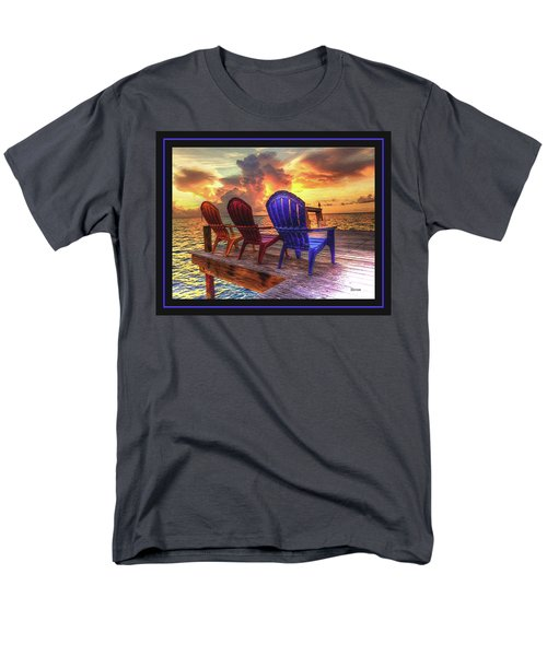 Come Sit A While Men's T-Shirt  (Regular Fit) by Steven Lebron Langston