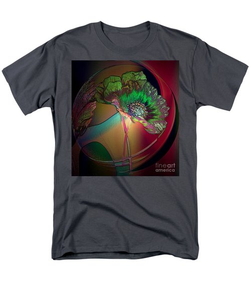 Comely Cosmos Men's T-Shirt  (Regular Fit) by Irma BACKELANT GALLERIES