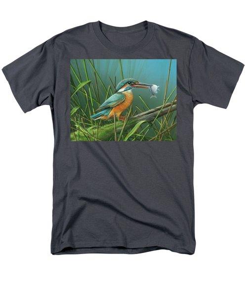 Common Kingfisher Men's T-Shirt  (Regular Fit)