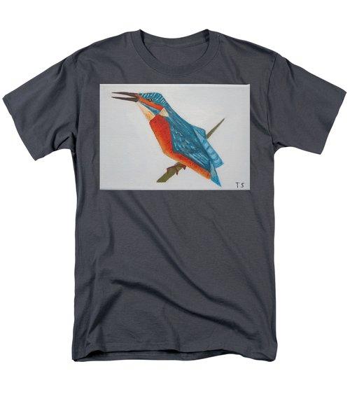 Common Kingfisher Men's T-Shirt  (Regular Fit) by Tamara Savchenko