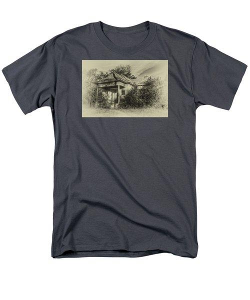 Community Center II In Sepia Men's T-Shirt  (Regular Fit)