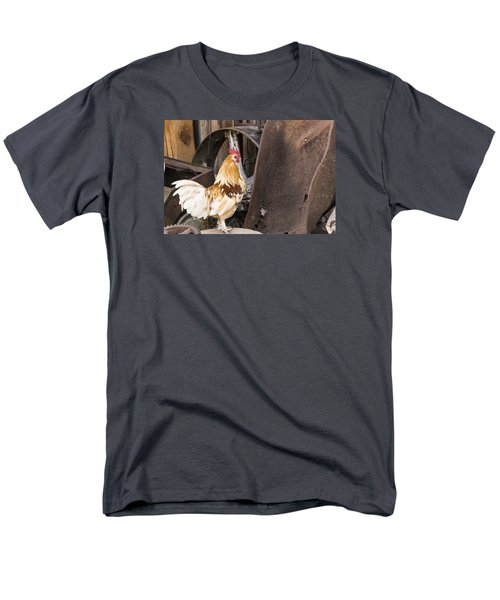 Contemplating Rust Men's T-Shirt  (Regular Fit) by Laura Pratt
