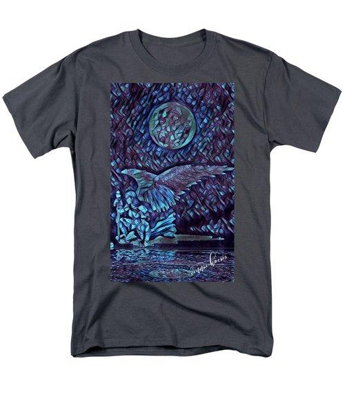 Contemplating The Next Move Men's T-Shirt  (Regular Fit) by Vennie Kocsis