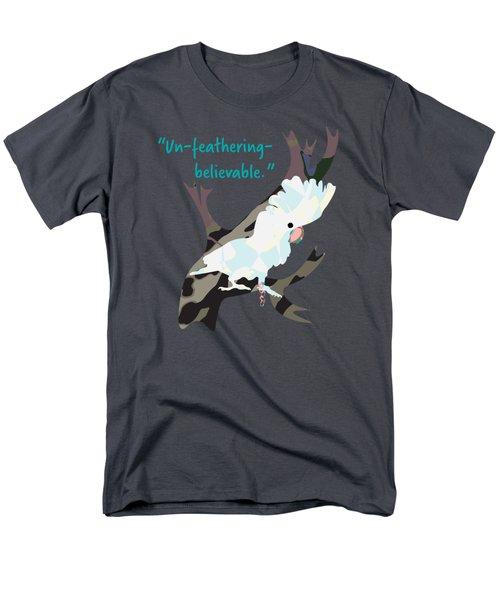 Cookie Cockatoo Men's T-Shirt  (Regular Fit) by Geckojoy Gecko Books