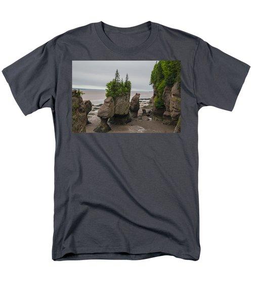 Cool Rocks Men's T-Shirt  (Regular Fit) by Will Burlingham