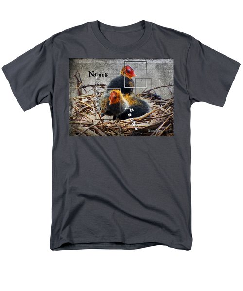 Coots In Nest Men's T-Shirt  (Regular Fit) by Judi Saunders