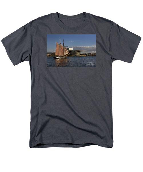 Men's T-Shirt  (Regular Fit) featuring the photograph Copenhagen Harbour by Inge Riis McDonald
