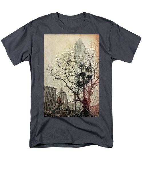 Men's T-Shirt  (Regular Fit) featuring the photograph Copley Square - Boston by Joann Vitali