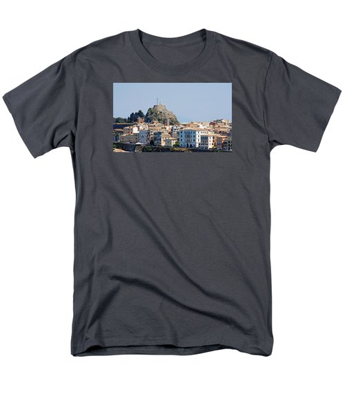 Men's T-Shirt  (Regular Fit) featuring the photograph Corfu Old Fortress by Robert Moss