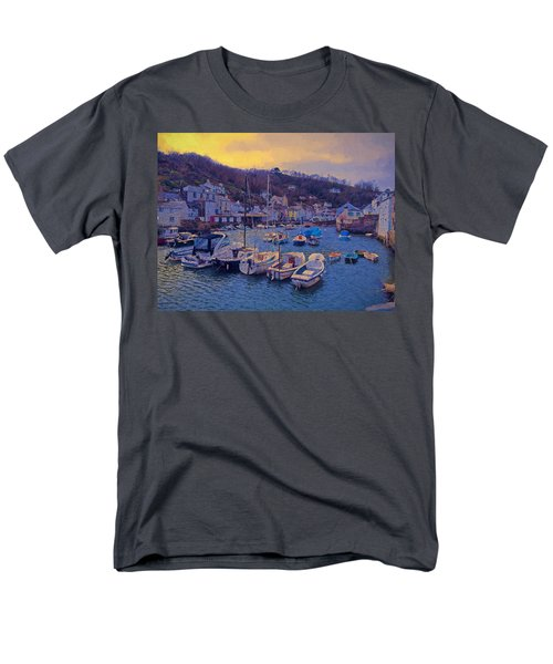 Cornish Fishing Village Men's T-Shirt  (Regular Fit) by Paul Gulliver