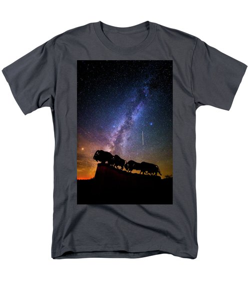 Men's T-Shirt  (Regular Fit) featuring the photograph Cosmic Caprock by Stephen Stookey