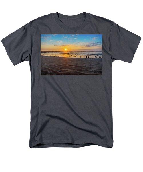 Coastal Sunrise Men's T-Shirt  (Regular Fit) by Dave Files