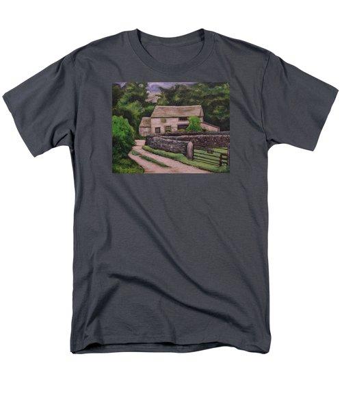 Cottage Road Men's T-Shirt  (Regular Fit) by Ron Richard Baviello