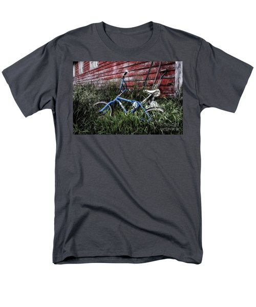 Men's T-Shirt  (Regular Fit) featuring the photograph Country Bicycle by Brad Allen Fine Art