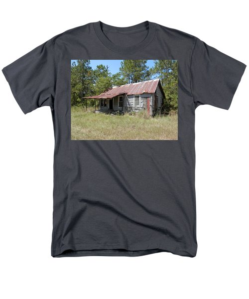 Country Living Gone To The Dawgs Men's T-Shirt  (Regular Fit) by Belinda Lee