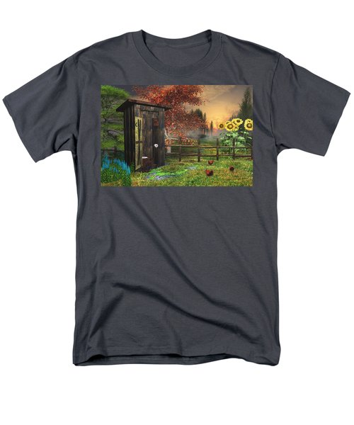 Country Outhouse Men's T-Shirt  (Regular Fit)