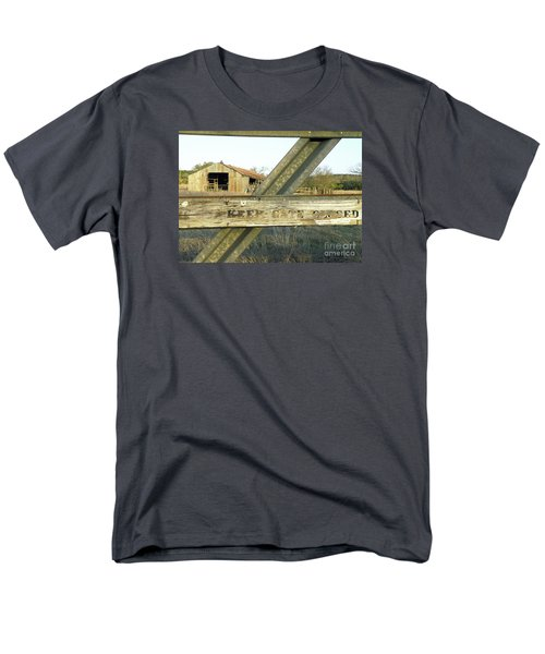 Men's T-Shirt  (Regular Fit) featuring the photograph Country Quiet by Joe Jake Pratt