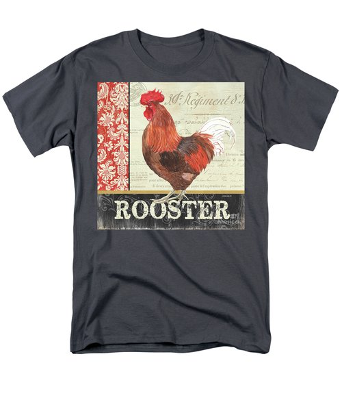 Men's T-Shirt  (Regular Fit) featuring the painting Country Rooster 2 by Debbie DeWitt