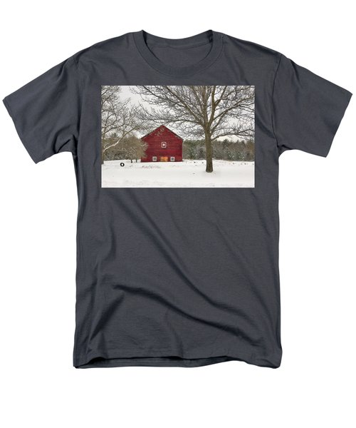 Country Vermont Men's T-Shirt  (Regular Fit) by Sharon Batdorf