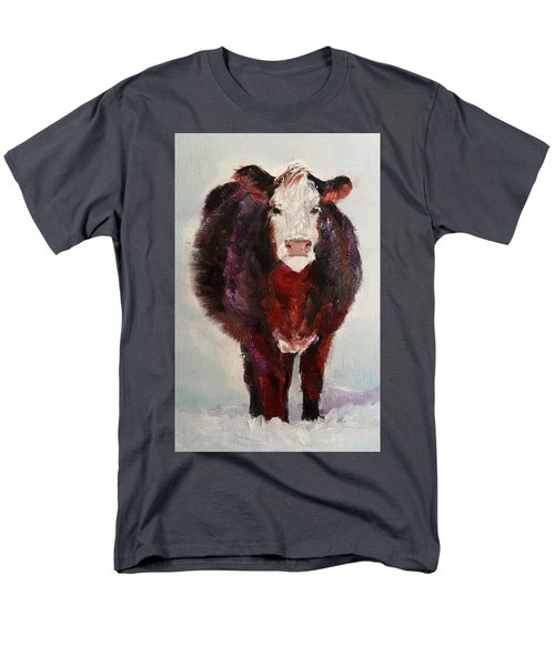 Cow Painting  Men's T-Shirt  (Regular Fit) by Michele Carter