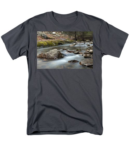 Men's T-Shirt  (Regular Fit) featuring the photograph Coxing Kill In February #2 by Jeff Severson