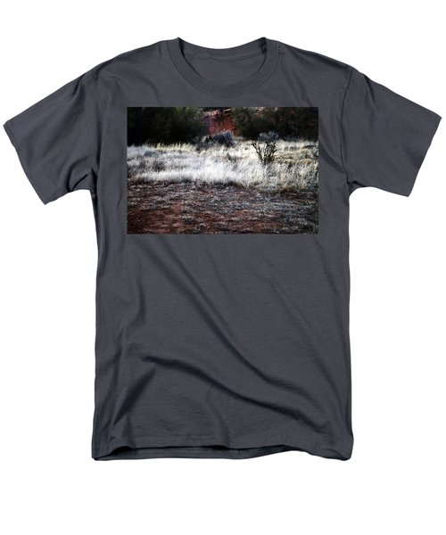 Men's T-Shirt  (Regular Fit) featuring the photograph Coyote by Joseph Frank Baraba