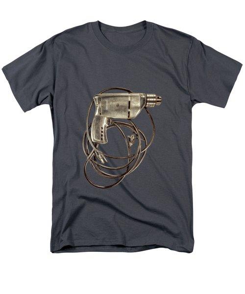 Craftsman Drill Motor Bs On Black Men's T-Shirt  (Regular Fit) by YoPedro