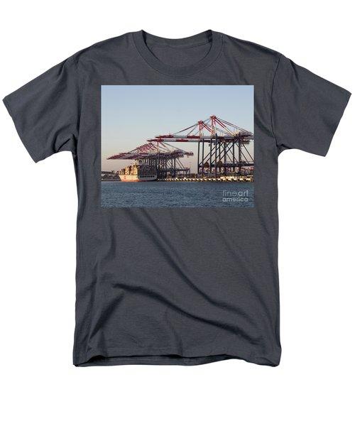 Cranes 2 Men's T-Shirt  (Regular Fit) by Cheryl Del Toro