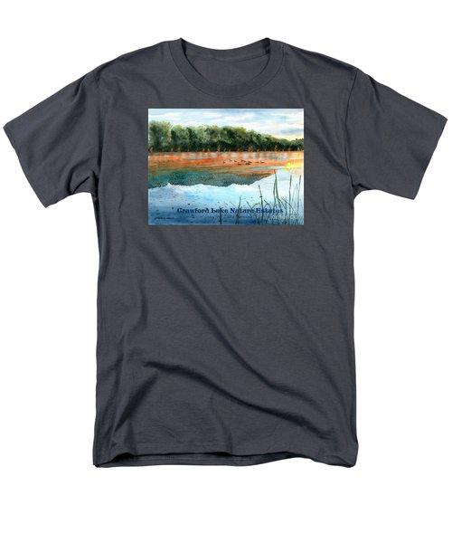 Crawford Lake Nature Estates Men's T-Shirt  (Regular Fit) by LeAnne Sowa