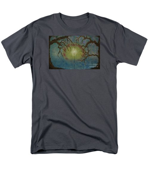 Men's T-Shirt  (Regular Fit) featuring the painting Creeping by Jacqueline Athmann