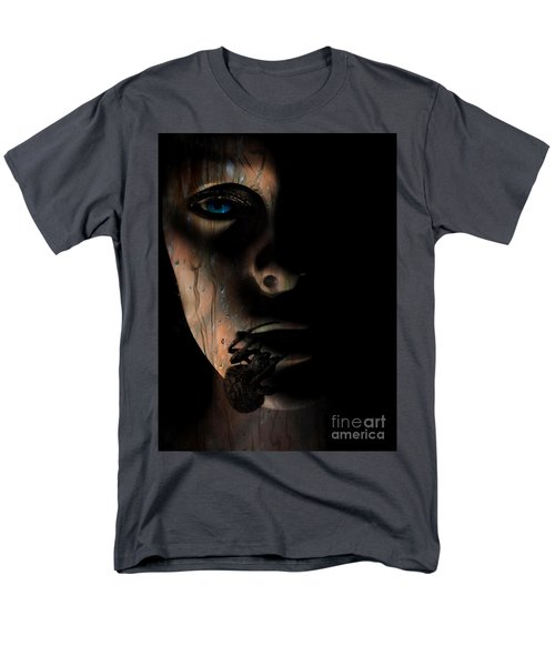 Men's T-Shirt  (Regular Fit) featuring the photograph Creepy by Trena Mara