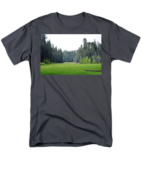 Men's T-Shirt  (Regular Fit) featuring the photograph Crescent Meadow by Kyle Hanson