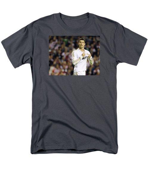 Cristiano Ronaldo 4 Men's T-Shirt  (Regular Fit) by Rafa Rivas