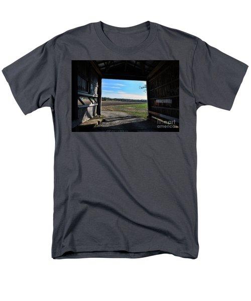 Crooks Bridge Men's T-Shirt  (Regular Fit) by Joanne Coyle