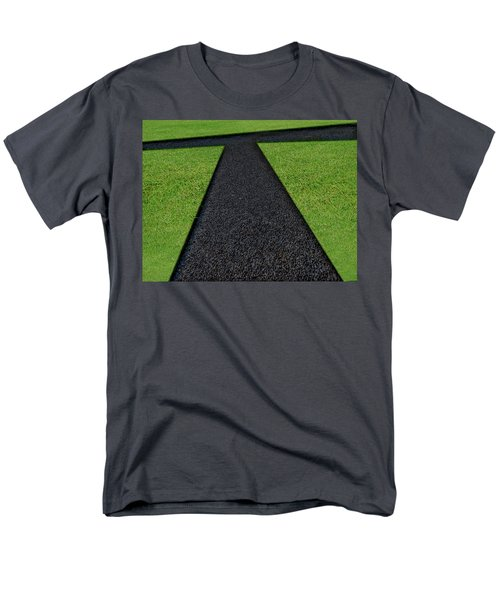Men's T-Shirt  (Regular Fit) featuring the photograph Cross Roads by Paul Wear