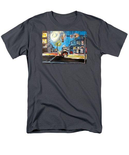 Cross Traffic Men's T-Shirt  (Regular Fit) by Barbara O'Toole