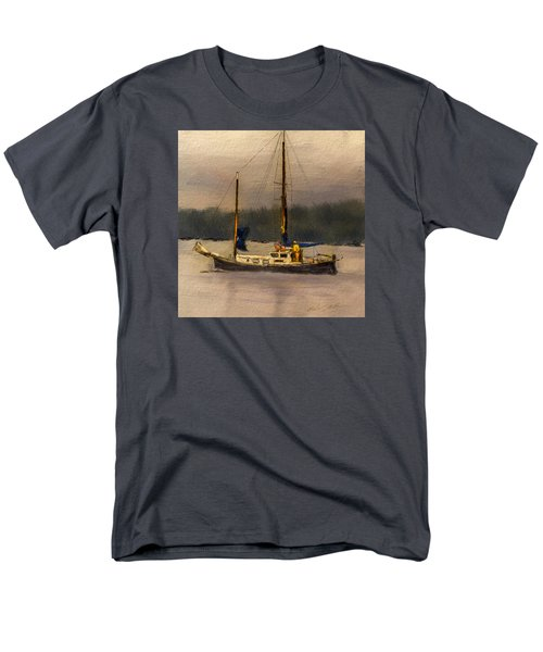 Crusing The Sound Men's T-Shirt  (Regular Fit) by Dale Stillman