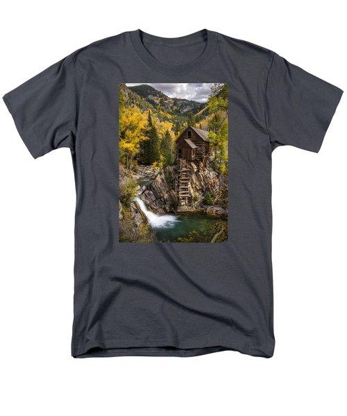 Crystal Autumn Men's T-Shirt  (Regular Fit) by Bjorn Burton