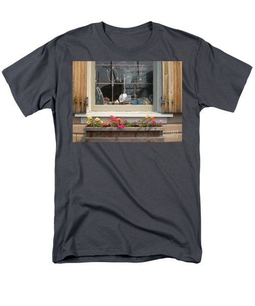 Men's T-Shirt  (Regular Fit) featuring the photograph Crystal Window by Kim Prowse