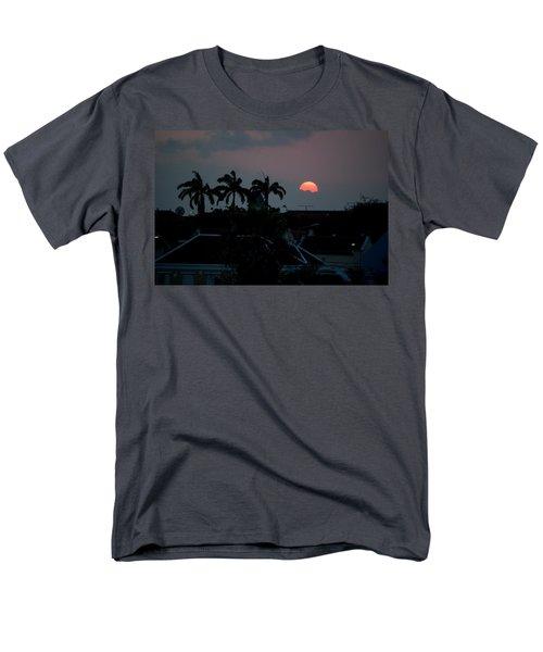 Men's T-Shirt  (Regular Fit) featuring the photograph Curacao Sun Rise by Allen Carroll