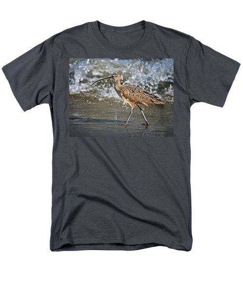 Curlew And Tides Men's T-Shirt  (Regular Fit) by William Lee