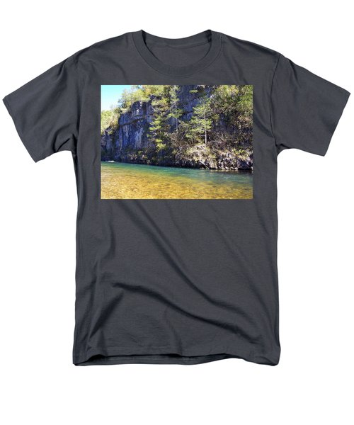 Current River 7 Men's T-Shirt  (Regular Fit) by Marty Koch