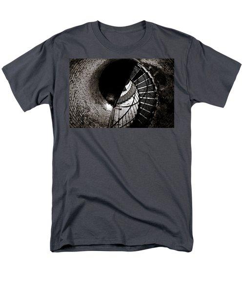 Men's T-Shirt  (Regular Fit) featuring the photograph Currituck Spiral II by David Sutton