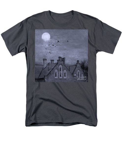 Men's T-Shirt  (Regular Fit) featuring the photograph Curse Of Manor House by Juli Scalzi