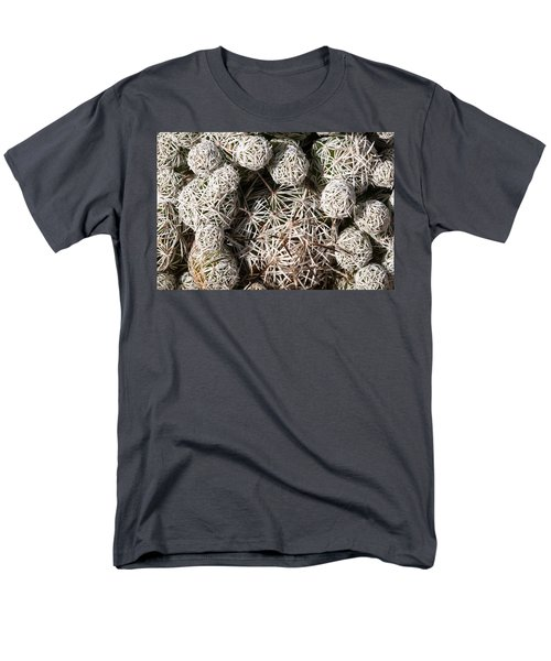 Men's T-Shirt  (Regular Fit) featuring the photograph Cute Cactus Ball by Catherine Lau