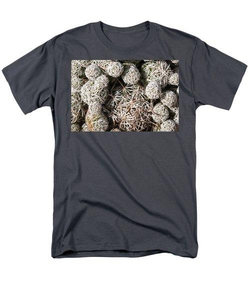 Cute Cactus Ball Men's T-Shirt  (Regular Fit) by Catherine Lau